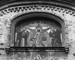 Икона Спасителя с Предстоящими Божией Матерью и Иоанном Предтечей.