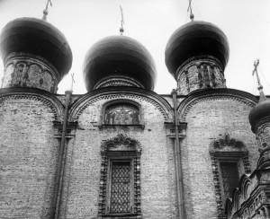 Нач. 20в. Вид на северную стену храма.